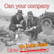 "Can Your Company ""Blow"" an Interview?"